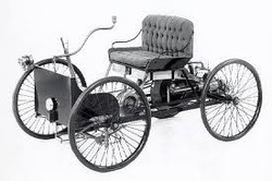 The First Henry Ford Vehicle Quadricycle Was Completed On June 4th 1896 But They Werent Able To Test Drive It Because Too Big Fit Out